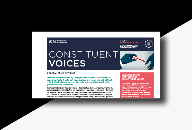 Omidyar Network - Constituent Voices